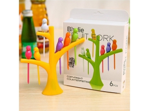 RM15.00 for Birdie Fruit Forks Set (worth RM25.00)