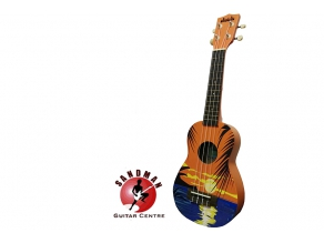 RM259 for Makala Ukadelics Tropical Day Soprano Ukulele (Free Clip Tuner Worth RM35)