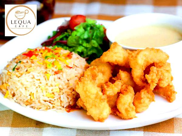 50% Off On ALL Main Course on the Menu @ Lequa Cafe