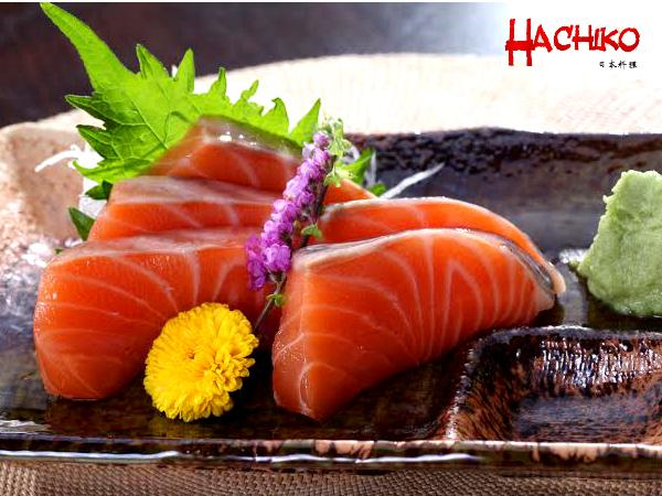 Free Plate of Salmon Sashimi Upon Purchase of RM100 @ Hachiko Japanese Restaurant (Worth RM26)