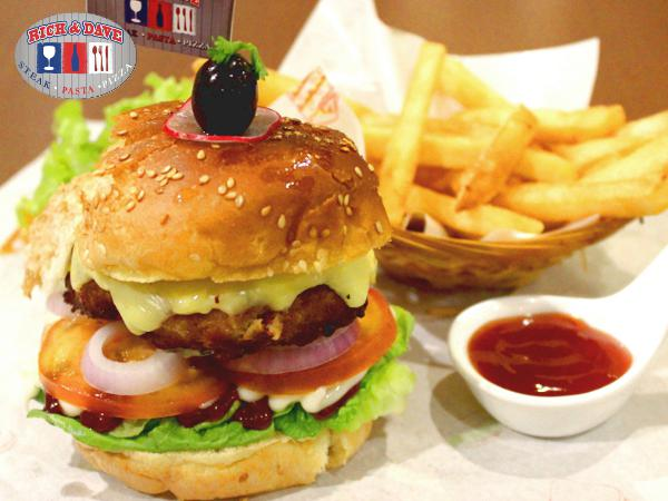 RM10 OFF for BBQ Chicken Burger @Rich & Dave-D' Cafe & Steak House(Worth RM19.90)