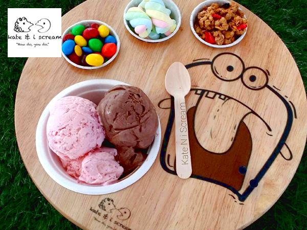 30% OFF for Gelato Set @ Kate N I Scream (Worth RM25.90)