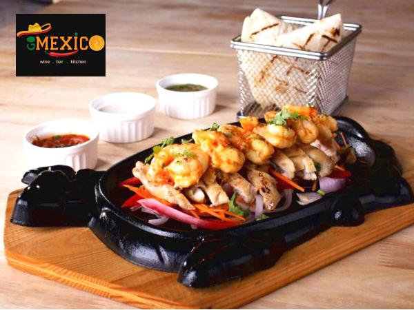 15% OFF for All ITEMS on the Menu @ Go Mexico Bar & Kitchen