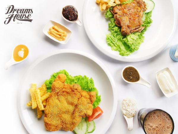 10% OFF for All Items on Menu @ Dreams House Cafe
