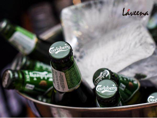 Buy 2 Buckets and Get 1 Bucket of Carlsberg for FREE @ Laveena Cafe & Bistro (Worth RM174)
