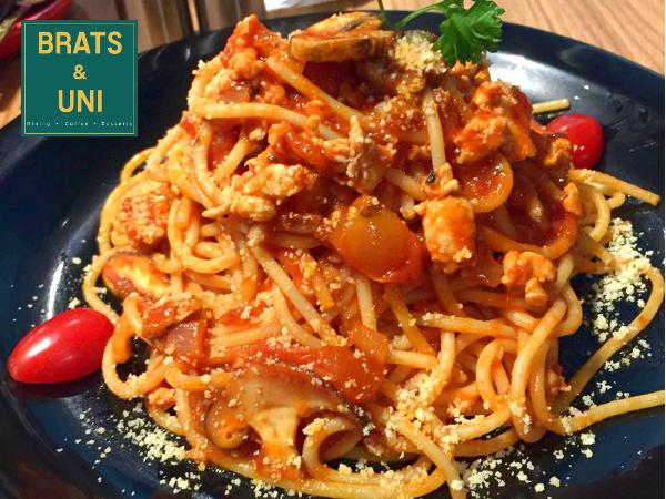 15% Off For ALL Items on the Menu @ Brats & Uni Cafe