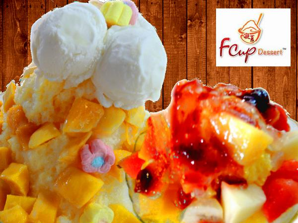 15% Off on ALL Item on the Menu @ Fcup Desserts