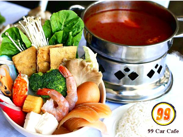 10% Off ALL Items on the Menu @ 99 Car Cafe