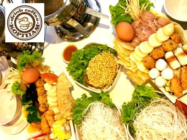 10% Off ALL Seafood Mini Hot Pot @ Drink Coffee Kopitiam