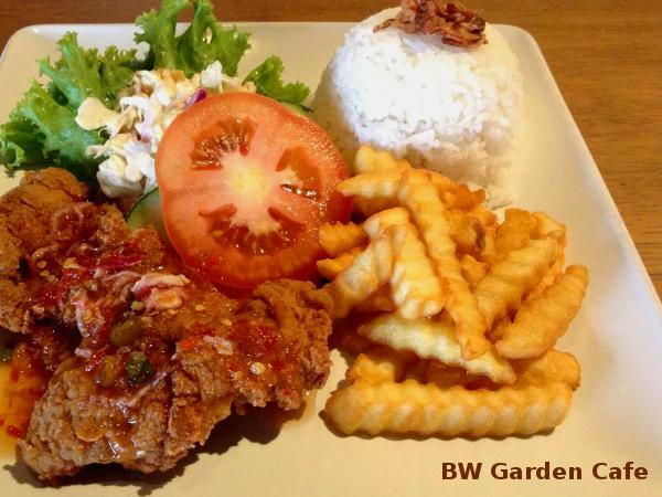 10% Off ALL Items on The Menu @ BW Garden Cafe