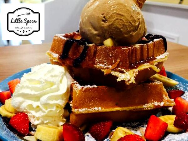 Free Handmade Classic Waffle Upon Purchase of Regular Cup @ Little Spoon (Worth RM5.90)