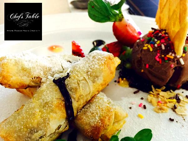 FREE Baked Filo Apple @ Chefs Table (Worth RM16.90)