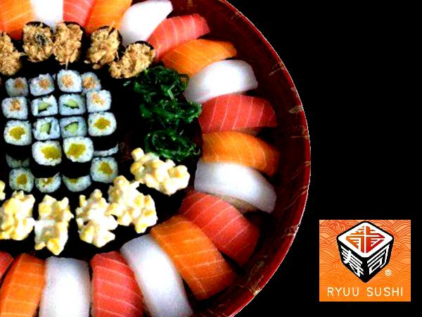 5% OFF ALL Item  On The Menu @ Ryuu Sushi