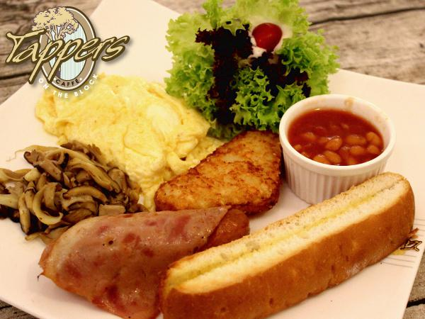 10% Off The Bill @ Tappers Cafe