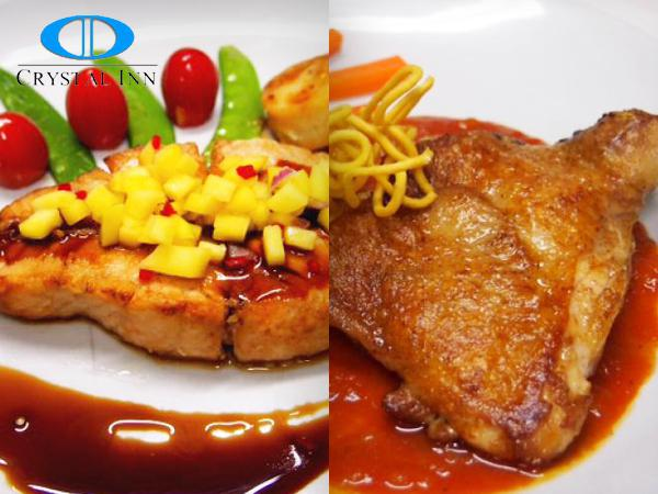RM26.90 for Both Chicken Pomodoro and Grilled Salmon Teriyaki (worth RM41.80)