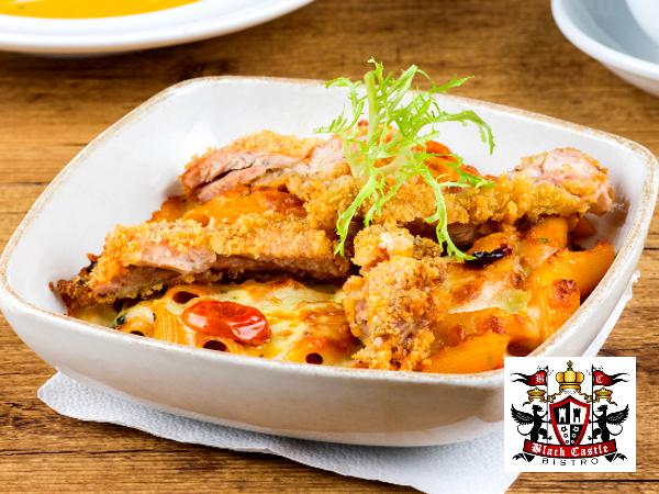 RM18.90 for Pasta Baked Lunch Set @ Black Castle Bistro (worth RM37.80)