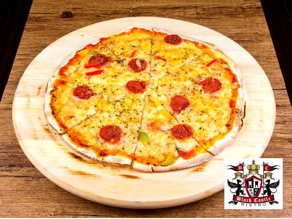 RM15.90 for American Pizza Lunch Set @ Black Castle Bistro (worth RM31.80)