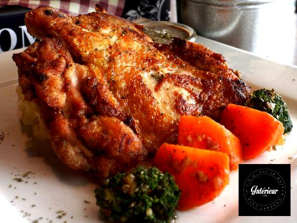 RM18.10 for Pan Seared Chicken Chop & Free Mini Waffle (worth RM36.80)