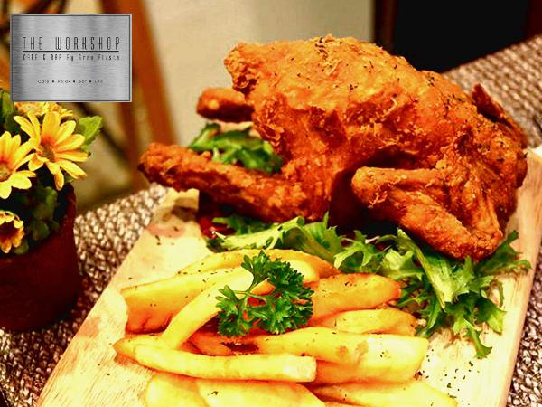 20% Off On ALL Item on the Menu @ The Workshop Cafe & Bar by Gran Fiesta