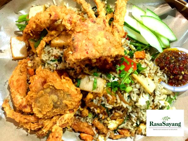 10% off ALL Item on the Menu @ Rasa Sayang