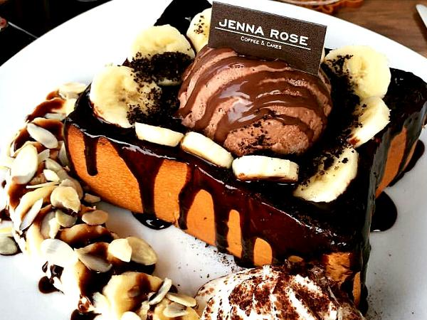 15% off ALL Honey Toast @ Jenna Rose