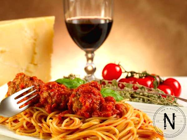 RM19.90 for Pasta & Drinks @ Ink N Water (Worth RM35.80)