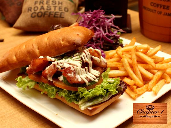 Get 10% off on ALL Brunch & FREE Tea @ Chapter One
