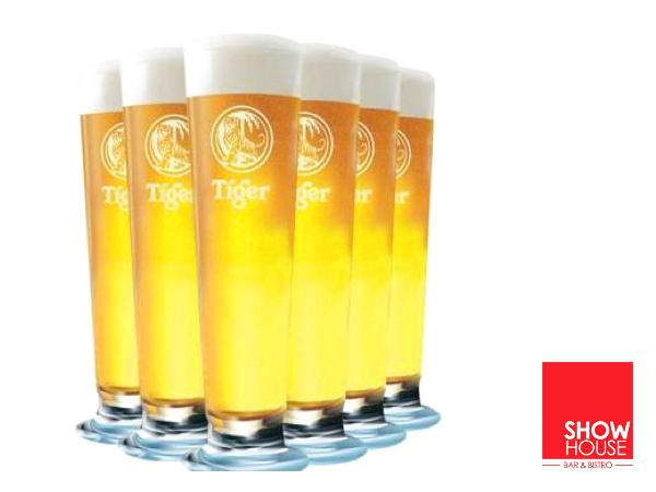 RM166 for 20 Pint Tiger Draught @ ShowHouse (Worth RM230)