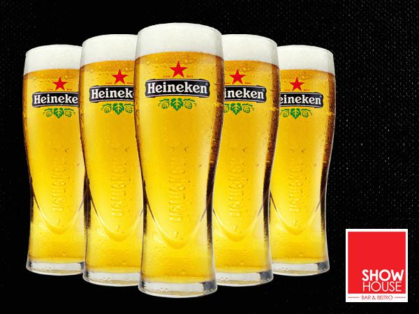 RM220 for 20 Pint Heineken Draught @ ShowHouse (Worth RM300)