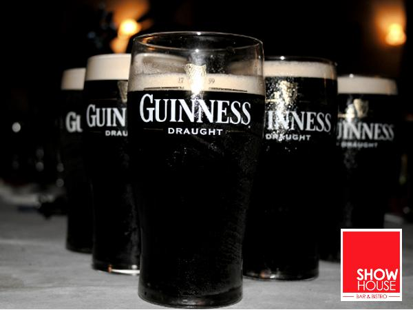 RM108 for 6 Pint Guinness Draught @ ShowHouse (Worth RM133)