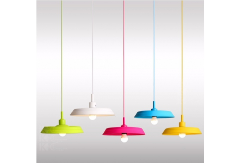 RM9.90 for Colourful Silicone Folding Pendant Lights (worth RM25)