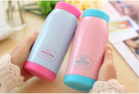RM34.90 for Starry Sky Stainless Steel Thermal Bottle 500ml (worth RM59.90)