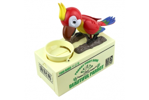 RM40 for Parrot Coin Savings Box (worth RM60)
