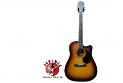 RM459 for Montana MA701CE Acoustic-Electric Guitar (Free Seiko Tuner & Picks Worth RM78)