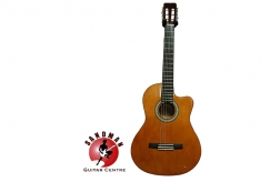 RM399 for Valencia CG150CE Classical Guitar–Cutaway body with Pickup (Free Seiko Tuner & Picks Worth RM78)