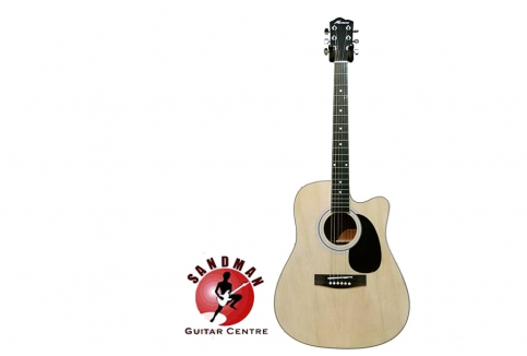 RM369 for Montana MA701C Acoustic Guitar (Free Seiko Tuner & Picks Worth RM78)