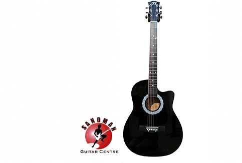 RM199 for JY E120C Acoustic Guitar (Free 3 Guitar Picks Worth RM6.60)