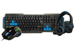 RM110.40 for Kworld KCG100 Gaming Combo Kit (Worth RM138)